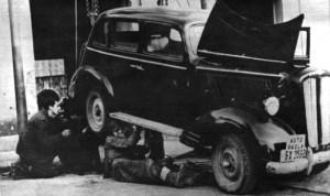 Popravka prvog automobila za obuku 1963.g