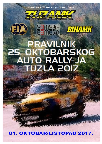 Pravilnik 25 oktobarski Auto rally Tuzla 2017 www_001