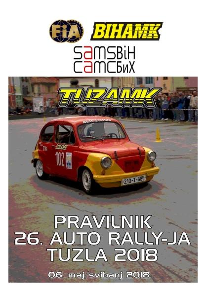 Pravilnik 26 Auto rally Tuzla 2018 www_001